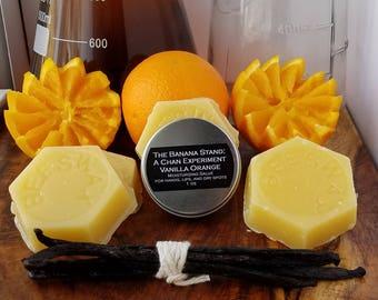 Moisturizing Salve / Balm / Lotion || For Hand / Dry Skin / Lip / Foot / All Purpose || Vanilla Orange scent || Free Shipping
