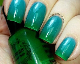 Thermal nail polish - 5 ml palm trees and cool seas