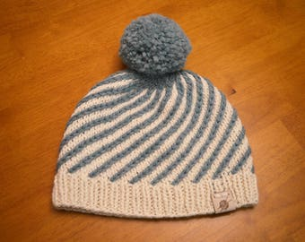 Alpaca Swirl Hat
