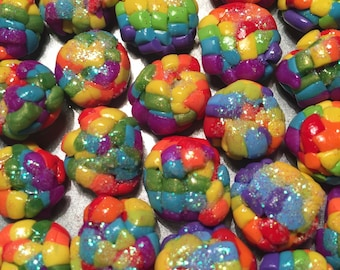 Unicorn poop magnets