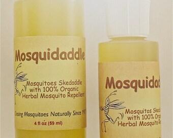 Mosquidaddle Organic Mosquito Repellent