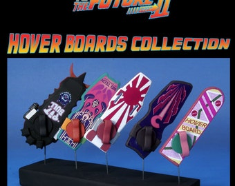 Back to the Future II Hoverboards Collection 5 Scale Models