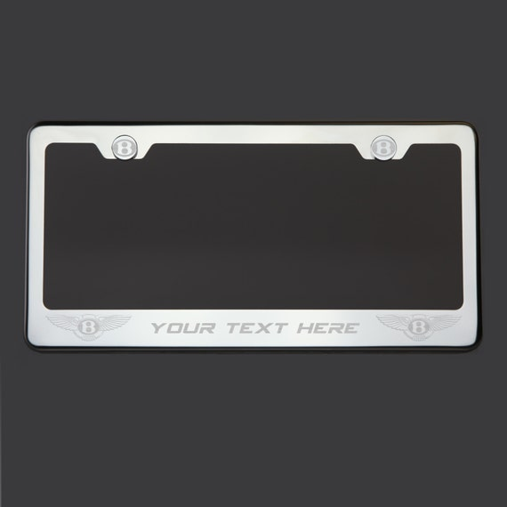 bentley polish stainless steel silver or black lettering. Black Bedroom Furniture Sets. Home Design Ideas