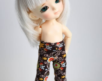 Little patterned tights for Lati Yellow, Middie Blythe or Pukifee dolls