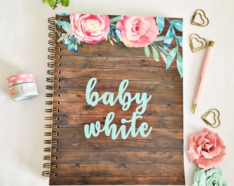 Pregnancy diary, pregnancy planner, pregnancy journal, maternity diary, mom to be gift, maternity planner, pregnancy tracker