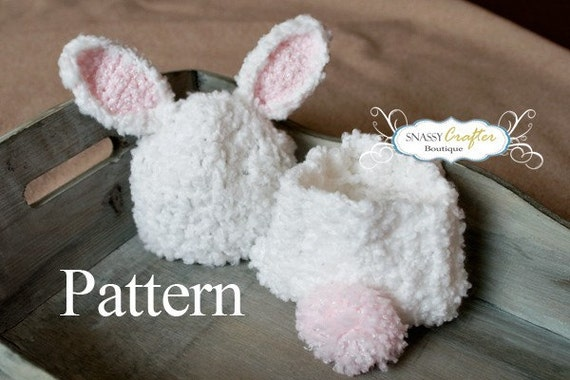 Crochet bunny hat pattern diaper cover pattern newborn hat crochet bunny hat pattern diaper cover pattern newborn hat pattern baby hat pattern newborn 3 months snassy crafter original dt1010fo