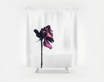 A Beautiful Demise Photography Shower Curtain