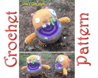 Morris the Monster A Crochet Pattern by Erin Scull