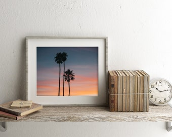 California Palm Trees - Landscape Photography - Digital Download