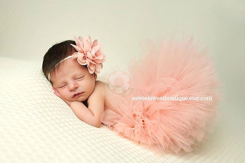 Newborn Tutu Photo Shoot