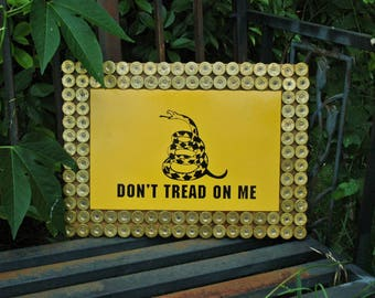 Don't Tread On Me Plaque