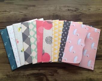 handmade envelopes, set of 10 envelopes, envelopes, stationery, set of 10, beautiful envelopes, stationary,