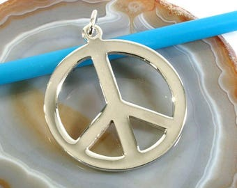 Peace, pendant 925 sterling silver-peace, pendant 925 sterling silver-3468