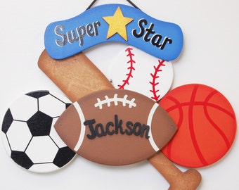 Personalized Sports Sign