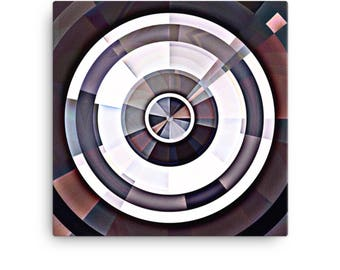 Gallery Wrapped Canvas, Abstract Art Print, Framed Artwork, Modern Wall Art, Ready to Hang