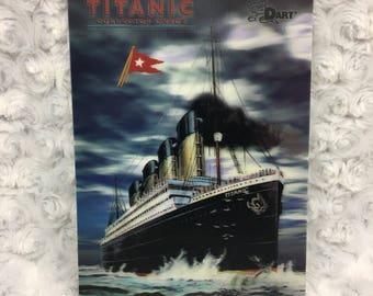 Titanic Museum Florida 3D Lenticular Finish Collectors Card Dart Brand Vtg 1998