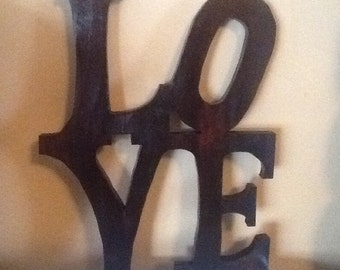 LOVE Sign Wall  Home Decor   Mothers Day Sale   15% off