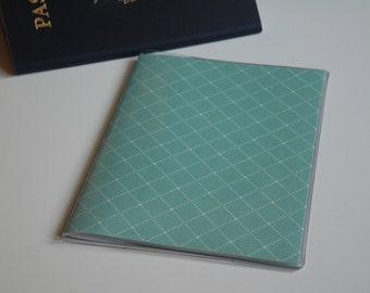 Passport Cover, Blue Diamonds, Passport  Sleeve, Case, Holder