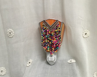 Stained Glass Night Light - Beaded