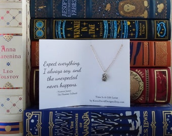 Time Is A Gift - Necklace Inspired by The Phantom Tollbooth