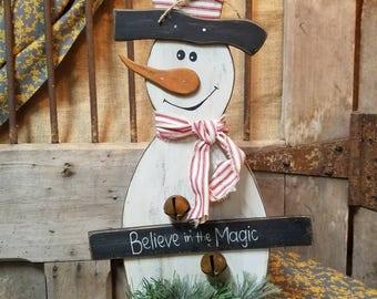 """Snowman - """"believe"""""""