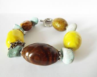 Large bold Bracelet