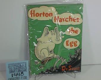 "1970's Random House Dr.Seuss-""Horton Hatches the Egg"""