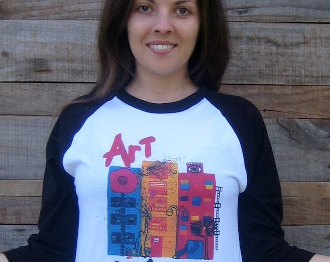 ART...see it! Unisex Baseball T Shirt