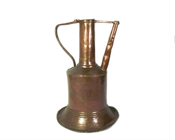"13.5"" Antique Islamic Copper Water Pitcher"