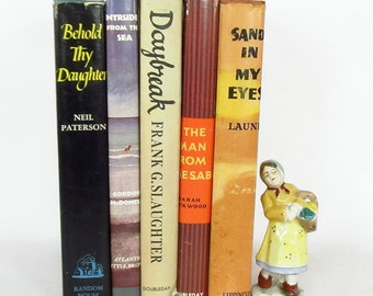 Novels with Nice Dust Jackets from the 1950's