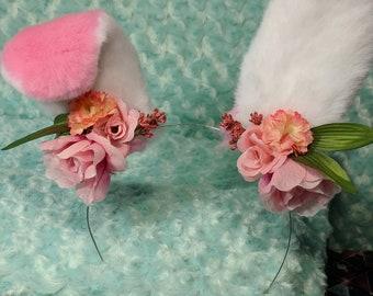 Sweet flower bunny