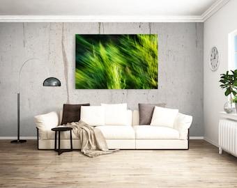 Motion  / Movement Print / Fine Art Photography / Home Decor / Art / Yellow Art
