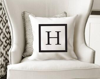 Monogrammed Pillow Covers, Monogrammed Pillow, Initical Pillow, Custom Pillow