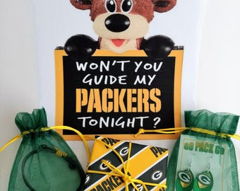 Packers Gift Wrap add-on