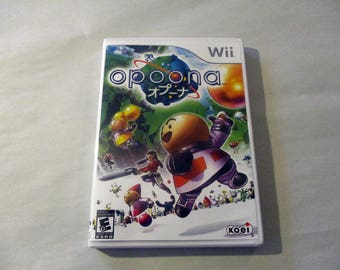Opoona Custom Nintendo Wii case Only (***NO GAME***)