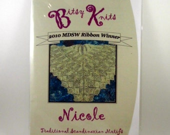 Lace Shawl Pattern - Award Winning Nicole