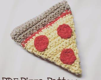 PATTERN ONLY - Stuffed Pizza