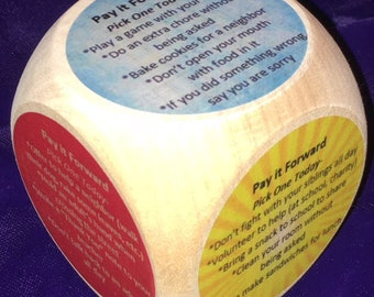 Pay It Forward Cube-Kids Version