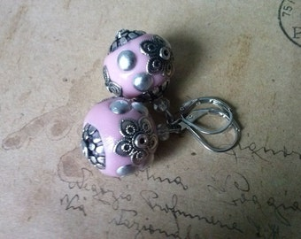 Rosane Kashmiri earrings ~ silver ~