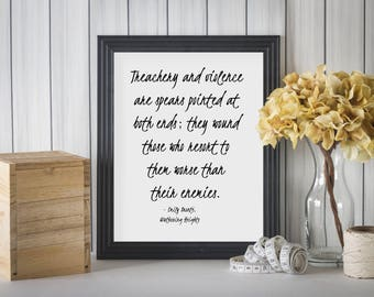 Emily Bronte Quote, Wuthering Heights Quote, Book Quotes, English Teacher Gift, English Major Gift, Bronte Quote Print, Literary Quote Print