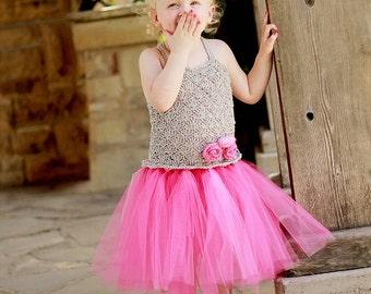 Crochet Pattern, No Sew, Crochet Baby Dress Pattern, 3T to 10 Years, Crochet Easter Dress Pattern, Crochet Tutu Dress Pattern