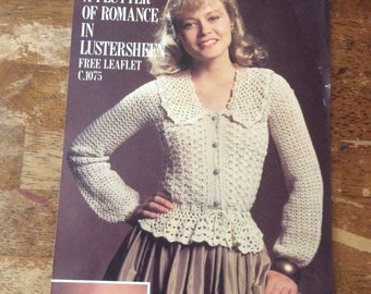 Vintage Crochet Sweater Pattern