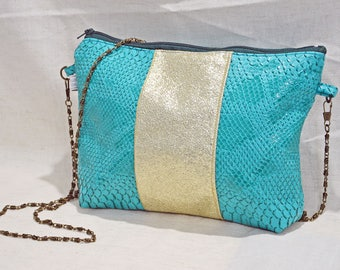 Lovely green and gold purse