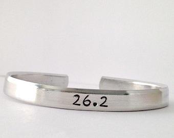 Marathon Bracelet with City & Date