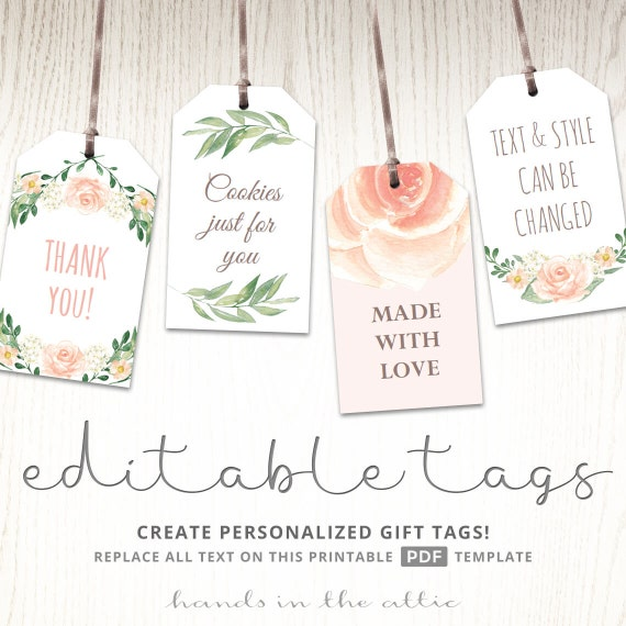 Terrible image within baby shower gift tag printable