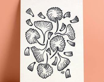Fall Leaves — Print