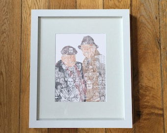 Still Game Silhouette Series by GeeK illustration