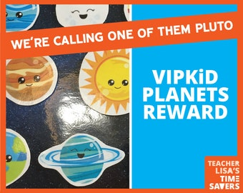 VIPKID Planets Reward Set