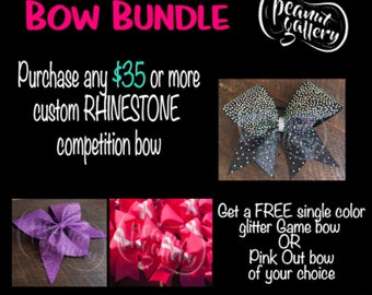 Competition Bow with FREE Game or Pink Out Bow