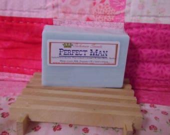 Perfect Man Shea Butter & Goats Milk Soap